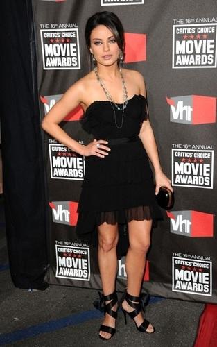 Mila @ 2011 Critic's Choice Awards