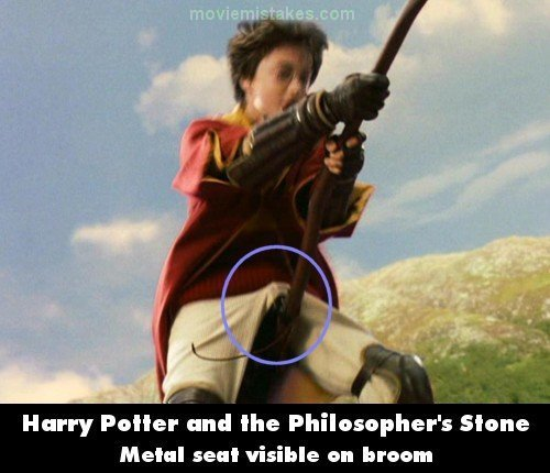 Harry Potter Vs. Twilight wolpeyper titled Movie Mistakes