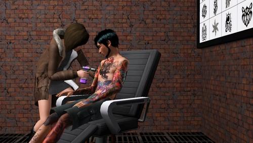 Как сделать татуировку для симс 4 816