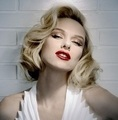 Naomi as Marilyn Monroe