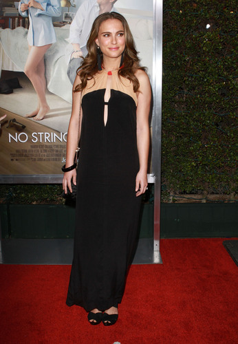 """Natalie @ """"No Strings Attatched"""" LA Premiere"""