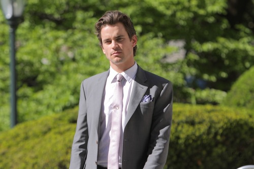 White Collar wallpaper containing a business suit, a suit, and a two piece entitled Neal Caffrey