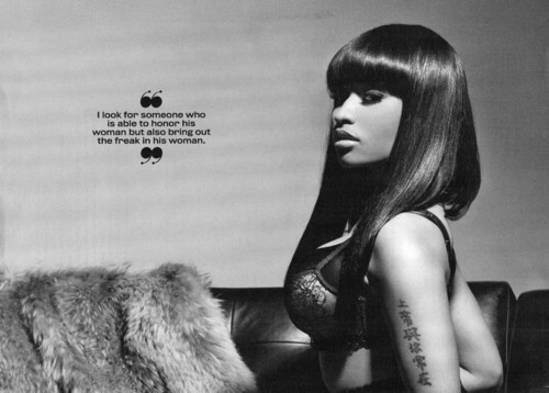 Nicki Minaj - King Magazine (March/April 2011) - Nicki Minaj 500x358