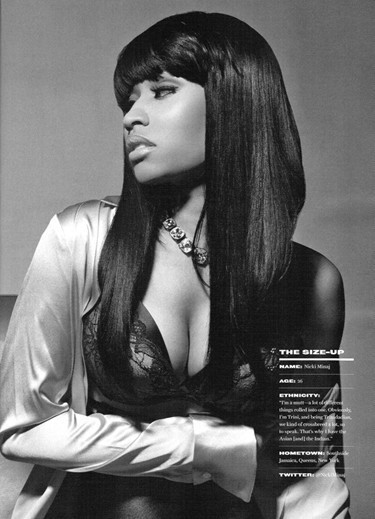 Nicki Minaj - King Magazine (March/April 2011) - Nicki Minaj 375x519