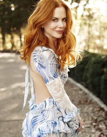 Nicole in Harper's Bazaar