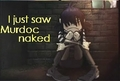 Noodle Saw Murdoc Naked!!!
