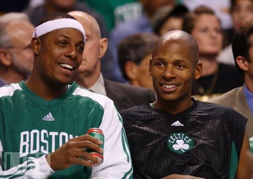 Boston Celtics Hintergrund called Paul & strahl, ray