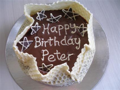 Peter's Birthday Cake - Step 5... The result