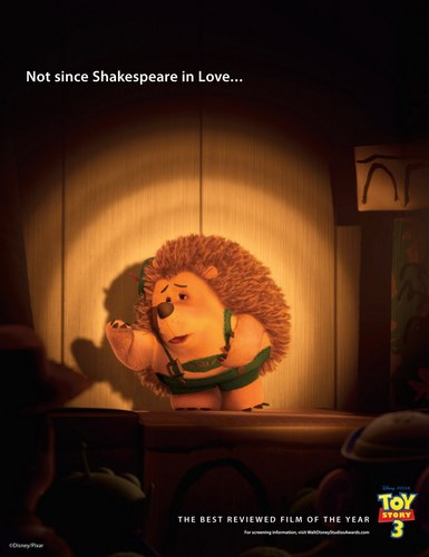 """Pixar's """"Not Since..."""" Campagin for the 83rd Academy Awards"""
