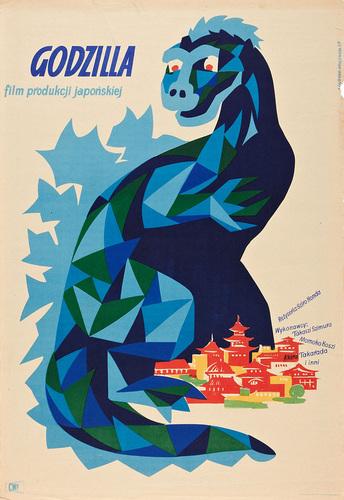 Polish Godzilla Poster