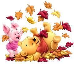 Pooh and Piglet as শিশুরা