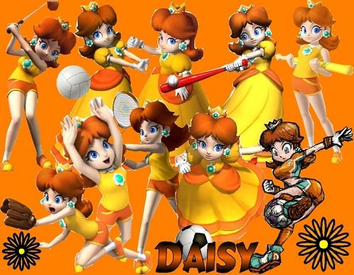Princess 雏菊, 黛西 Party Sports 壁纸