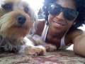 Princeton and his dog!(: