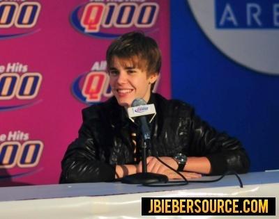 Q100 press Conference
