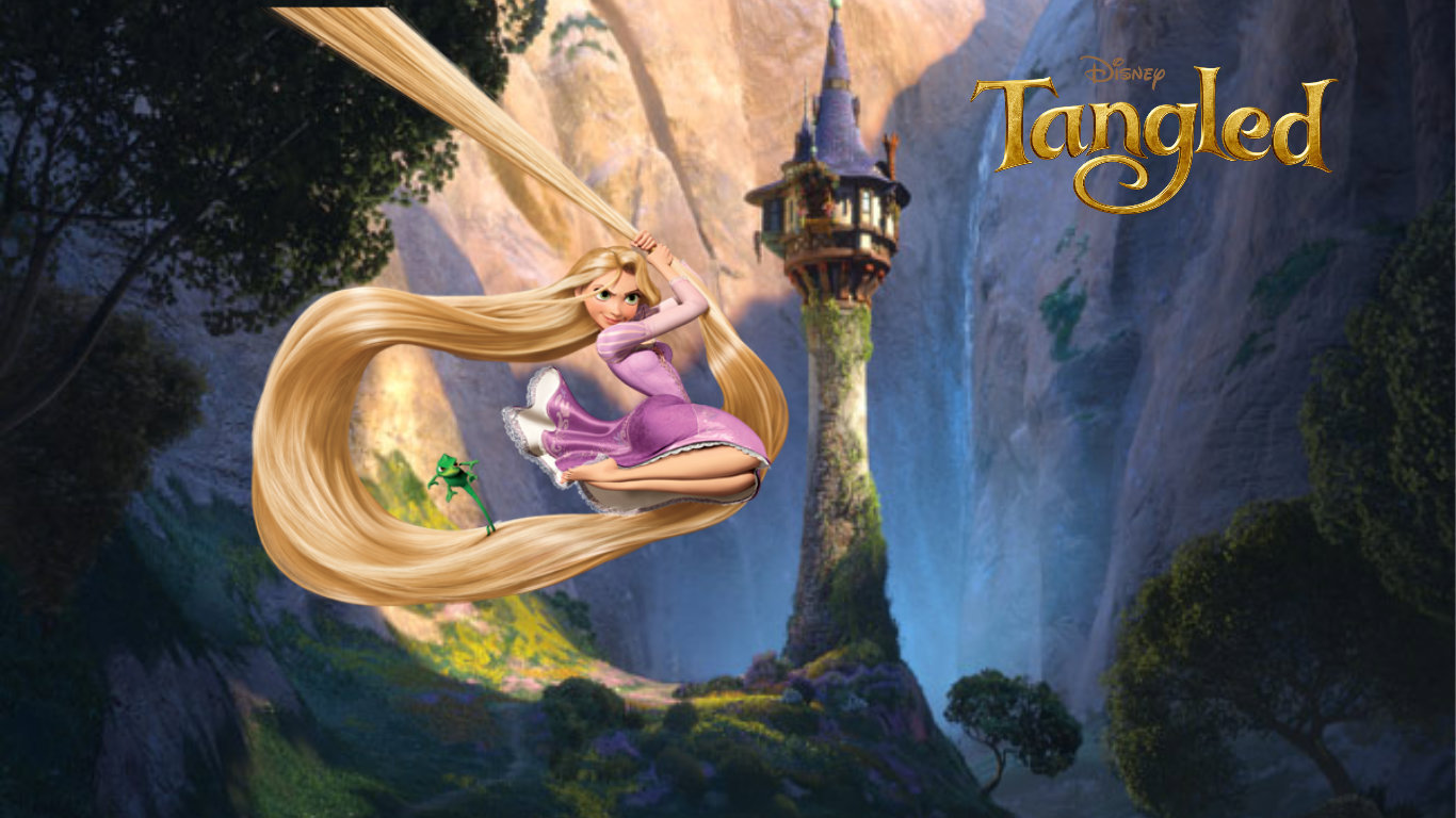 how to become rapunzel from tangled