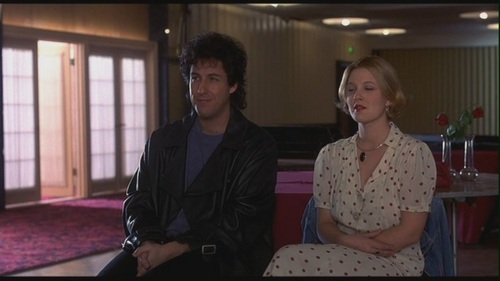 Movie Couples Wallpaper Probably With A Brasserie Called Robbie Julia In The Wedding Singer