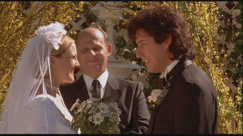 Movie Couples Wallpaper Titled Robbie Julia In The Wedding Singer