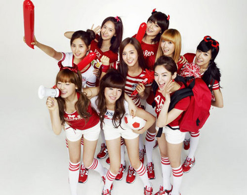 SNSD - red it!