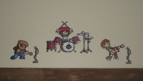 Scott Pilgrim Original Bead Art 의해 Pixelated Production