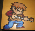 Scott Pilgrim Original Bead Art by PixelatedProduction