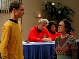 Sheldon and Leslie