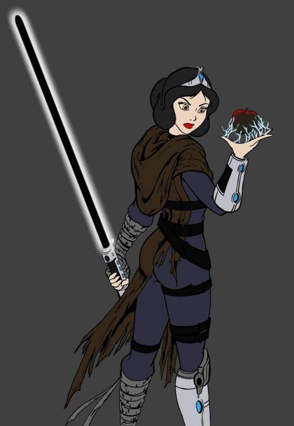 Star Wars White Star Wars Sith Snow White