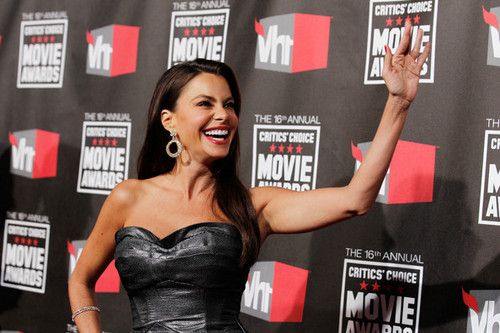 Sofia Vergara - 16th Annual Critics' Choice Movie Awards - Red Carpet