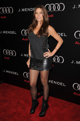 Sofia Vergara - Audi And J. Mendel Celebrate The 2011 Golden Globe Awards