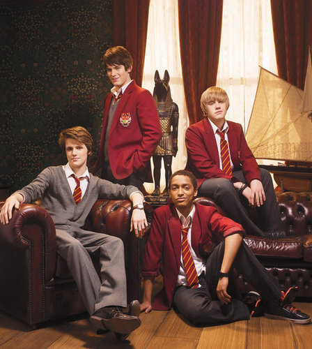 The House of Anubis wallpaper containing a business suit, a well dressed person, and a suit titled The guys of Anubis. :)