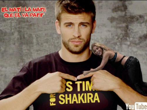 Gerard Piqué wallpaper called This time for Shakira