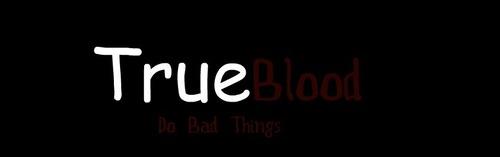 True Blood Homemade Logo
