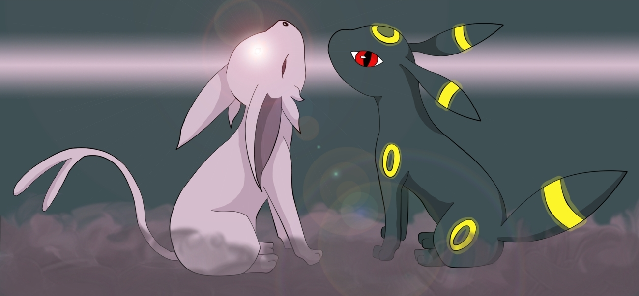 umbreon and espeon hd - photo #7
