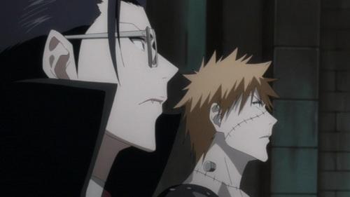 Uryu and Ichigo