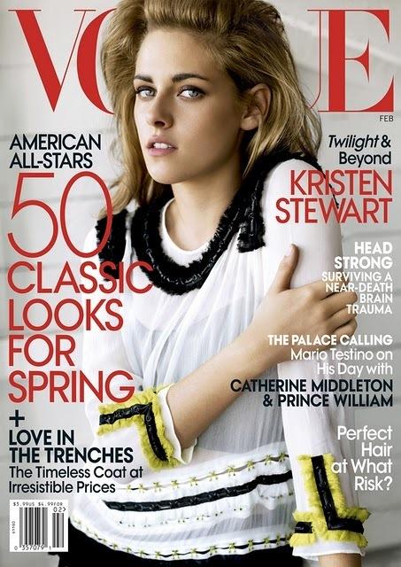 Vogue Kristen Stewart Cover. Vogue February cover - HQ