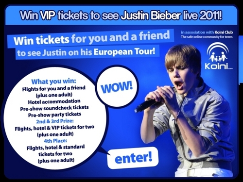 Justin bieber images wanna win justin bieber vip tickets httpwww justin bieber wallpaper possibly containing anime titled wanna win justin bieber vip tickets m4hsunfo Images