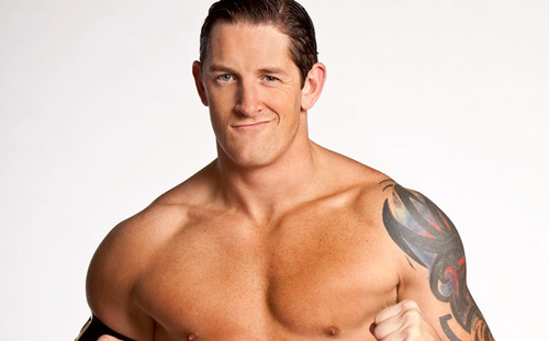 Wade Barrett wallpaper possibly containing a hunk, a six pack, and skin titled Wade Barrett Bio Pic