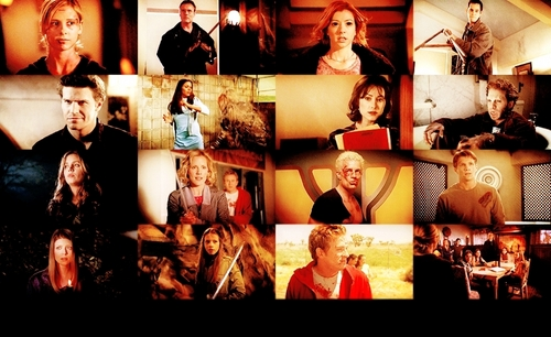 Buffy the Vampire Slayer achtergrond entitled Warriors