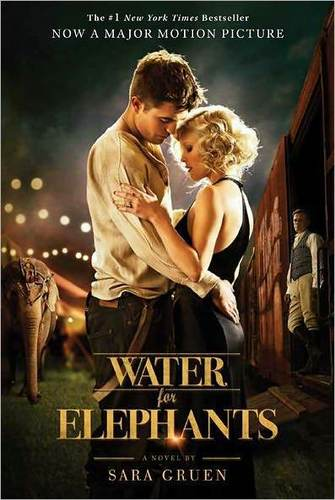 Water For Elephants movie tie-in cover with Robert Pattinson