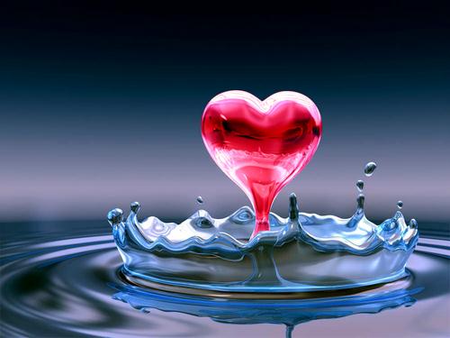 Water сердце