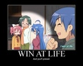 Win at life - lucky-star fan art