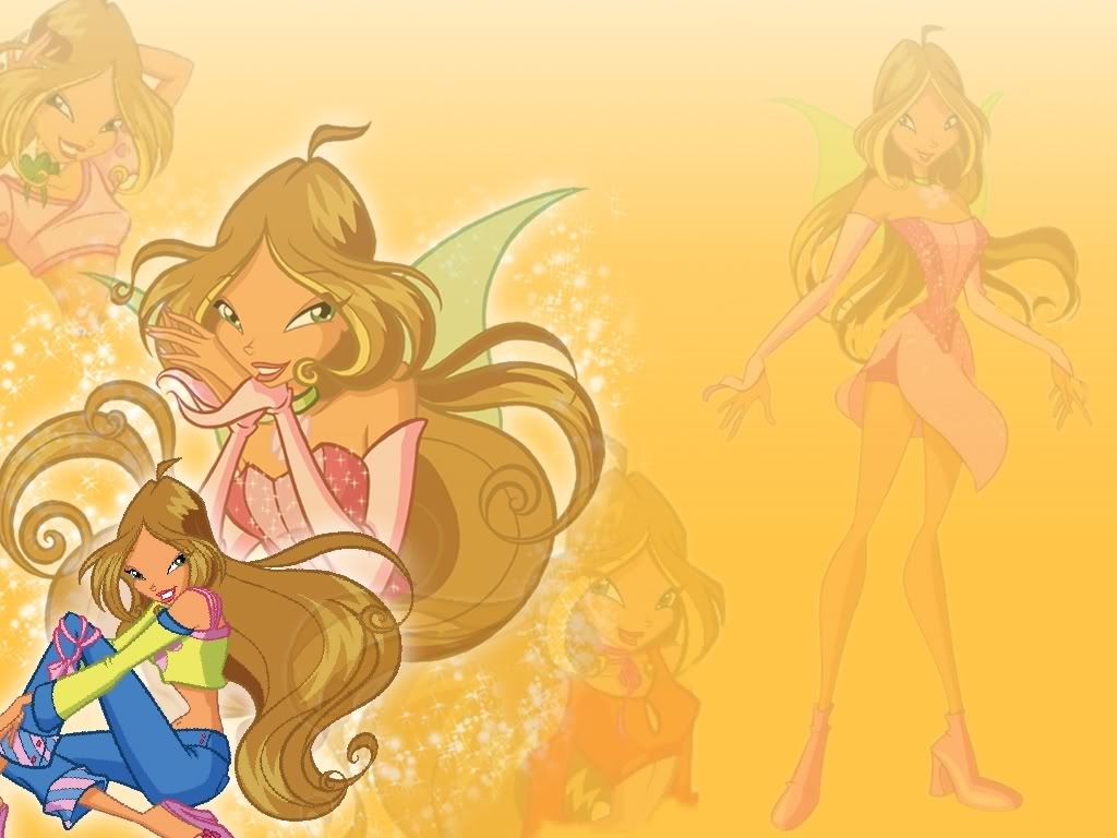 winx club flora in my heart images winx club flora