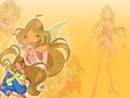 Winx Club Flora Wallpaper - winx-club-flora-in-my-heart wallpaper