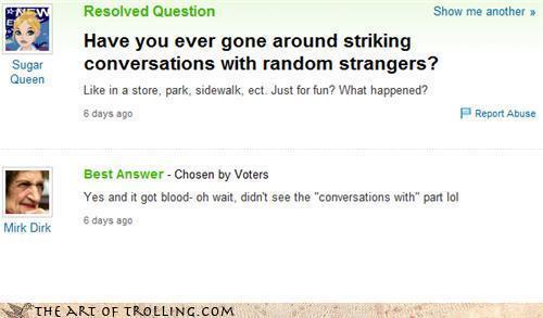 Yahoo antwoorden Fail