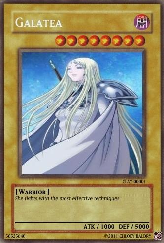 Yu-Gi-Oh! X claymore