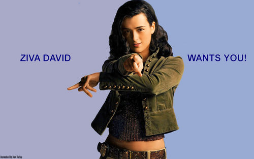 Ziva David Wants You Wallpaper