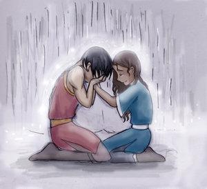 Zutara in the rain