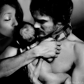 bonnie, damon and baby - damon-and-bonnie photo