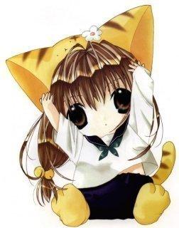 chibi kat baby