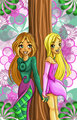 flora and cornelia - winx-vs-witch photo