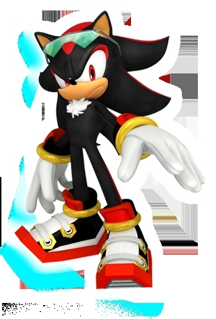 Shadow The Hedgehog wallpaper called free riders shadow!!